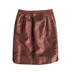 Shirttail mini in sequins
