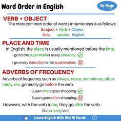 word-order-in-english