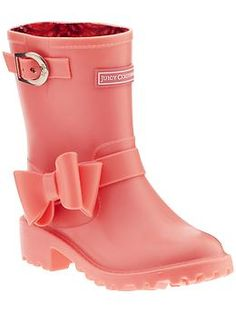 8 Cute Waterproof Boots | More Spring shower and Rain boot ideas