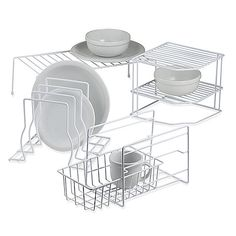 Whatever space issues you are facing, these organizers and shelves are certain to meet your needs. They're ideal for organizing cabinets and countertops.