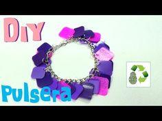 145. DIY PULSERA (RECICLAJE DE BOTES PLASTICOS)