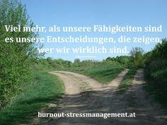 Es liegt an dir eine Leben mit Stress oder ein entspanntes Leben zu führen. Du entscheidest!