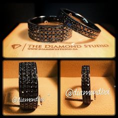 This has to be the dopest wedding band for a guy I've ever seen..