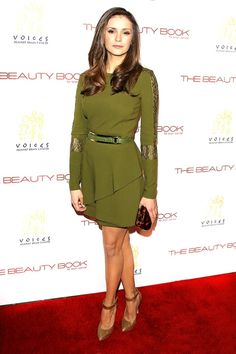 """Nina Dobrev: """"The Beauty Book for Brain Cancer"""" Edition 2 Launch Party   Red Carpet 24/7   Us Weekly"""