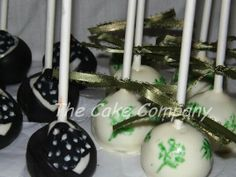 Gone with the wind cake pops