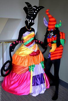 The Black Queen and Jack Noir - Homestuck