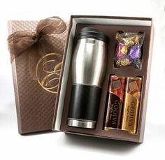Godiva(r) Tumbler Gift Set -- Contact us @ sales@starlightad.com for more information today!