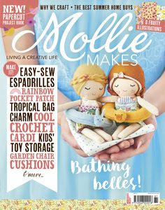 How to make a fabric flower brooch - Mollie Makes Mollie Makes, Garden Chair Cushions, Making Fabric Flowers, Quilting, Fabric Flower Brooch, Kid Toy Storage, Storage Ideas, Paper Peonies, Subscription Gifts