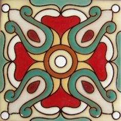 High relief Malibu Tile Classic Handmade Tiles, crafted by masterful Mexican artisans, skillfully hand painted, full of color. Combine colors and patterns to create your individual design and atmosphere with vibrant designs in creative ceramic tiles Painting Ceramic Tiles, Painting Tile Floors, Tile Art, Ceramic Art, Tile Flooring, Mexican Tile Kitchen, Mexican Tiles, Tuile, Kitchen Wall Colors