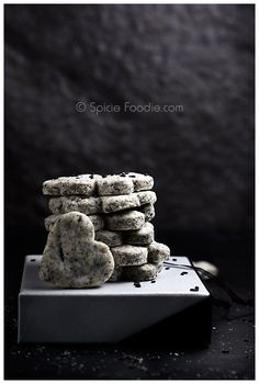 Black Sesame Polvorones from @SpicieFoodie