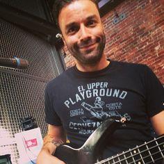 #ChristopherWolstenholme #ChrisWolstenholme  #Muse in studio October 2014