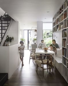 Gravity Home: A Narrow Family Home in Brooklyn