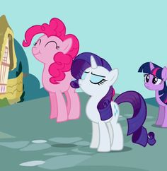 Pinkie Pie and Rarity