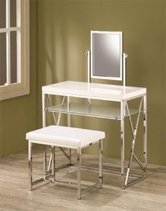 1000 images about make up tafel on pinterest dressing for Glass makeup table