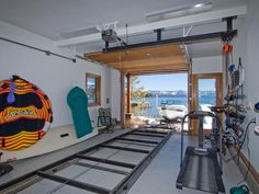 Got to have a boat garage.