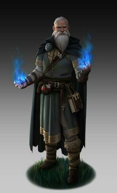 FIEND: Wise, rarely takes on jobs anymore, although formidable in his day with spells. Now makes poisons for others.