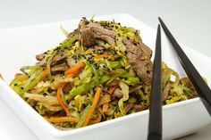 Uber Crack Slaw - low carb - I would leave out the carrot and sesame seeds to make it carbs per serving. Paleo Recipes, Low Carb Recipes, Real Food Recipes, Cooking Recipes, Atkins Recipes, Bariatric Recipes, Fast Recipes, Pork Recipes, Yummy Recipes