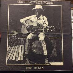 Bob Dylan - The Great White Wonder Bootleg Live 2xLP RARE VINYL RECORDING!