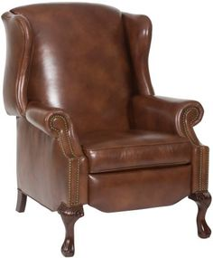 1000 images about wing back chairs on pinterest for Wing back recliner chair