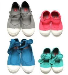 New Bensimon mary jane style sneakers for adults and kids. Love them.