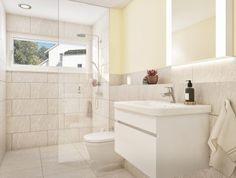 STOMEO Visualisierungen Alcove, Bathtub, 3d, Bathroom, Architecture Visualization, Real Estates, Floor Layout, Bathing, Standing Bath