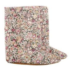 Boot - girls - pastel floral cord.  Ships internationally.  Myang boots have non-slip suede soles, fabric uppers, warm fleece lining, soft inner elastic to grip the ankle plus a zip to make for an easy and snug fit. Our boots are so comfortable, they can also be worn as slippers. Available in 6-12 month, 12-18 month and 18-24 month sizes. Please consult the foot chart on our site for sizing. Toddler Boots, Toddler Outfits, Foot Chart, Pastel Floral, Snug Fit, Toddlers, Cord, Kids Fashion, Ships