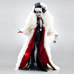 Cruella De Vil Disney Villains Designer Collection Doll