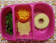 #MonkeyMunchables day 6. Easy, Fast, Inexpensive, Healthy, Kids Lunch. #bento #LunchIdeas #Kids #goodbyn #monkey #munchables