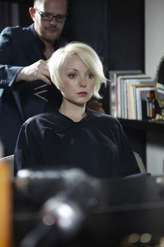 Helen George short cut