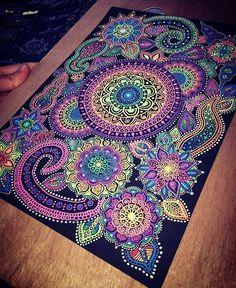✦ Psychedelic-Art | Mandala | Doodle