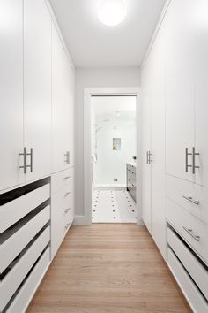 Walk in closet by Madeleine Design Group in Vancouver, BC. *Re-pin to your inspiration board*
