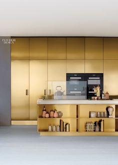 Kitchen Cabinetry. Italia PVD by Arclinea Arredamenti.
