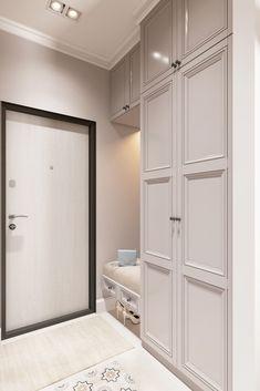 Bedroom Cupboard Designs, Bedroom Closet Design, Home Room Design, Living Room Designs, House Design, Design Studio, Home Entrance Decor, House Entrance, Home Decor Furniture