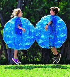 What are the top toys for 8 year old boys? Wearable inflatable bumper balls are such fun for everybody!   #BumperBalls #InflatableToys