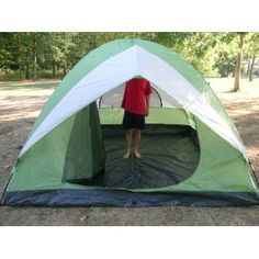 American Hawks Leberna 10 Foot X 10 Foot Four to Five Person C&ing Dome Tent Offer Stores  sc 1 st  Pinterest & Coleman Spring Valley 6-Person Dome Tent 10.5u0027 x 9.5u0027 | Camping ...