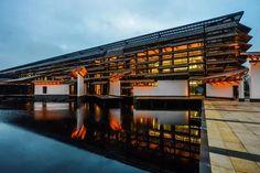 解密王澍最新作品:乌镇互联网国际会展中心 | 建筑学院