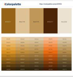 Orange Color Palettes, Colour Pallete, Color Schemes, Hex Color Codes, Hex Codes, Pink Color Combination, Dark Khaki, Complimentary Colors, Tans