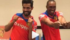 Jadeja Showing Moves For Champion Song With Bravo - KrazyKeeda