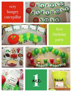 """more than 9 to 5...my life as """"Mom"""": Our Very Hungry Caterpillar Turns One!"""