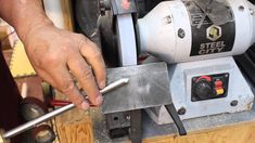 Sharpening  a Bowl gouge with Swept-back Wings:   Woodturning and Sharpe... I love this video.  I started free-hand grinding after watching this about ten times. Warning there is a learning curve,...practice if possible.