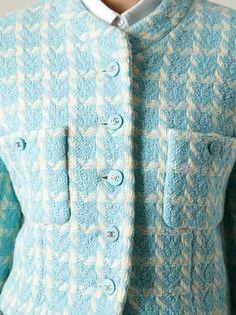Chanel Vintage - check bouclé jacket 11