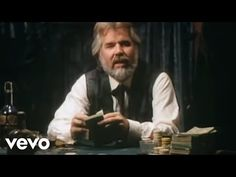 """I wouldn't say I'm a fan, but is a great sing and one of my favorites. """"Music video by Kenny Rogers performing The Gambler. © 2018 Capitol Records LLC, Courtesy of Capitol Records Nashville under license from Universal Music Enterprises. Jack Black, Music Songs, Music Videos, Music Film, Blues, Only Play, Capitol Records, Gambling Quotes, My Favorite Music"""
