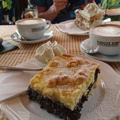 Kuchen im Stubencafé in Kochel am See