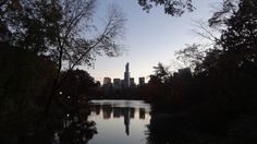 Reflecting on an awesome trip to NYC. #NYC #centralpark #cityscape