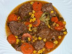 Arroz de Minhoca: Jardineira de carne com Legumes