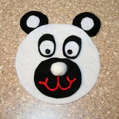 CD Panda Craft... make into a teddy bear? (party favour maybe?)