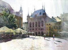 Splendid Watercolor Paintings by Grzegorz Wrobel - Wave Avenue