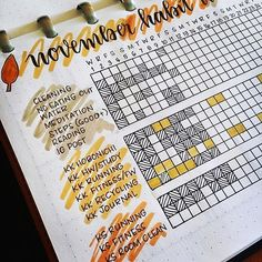 FABULOUS November Bullet Journal Themes {Cover pages and plan with me videos to inspire you!} FABULOUS November Bullet Journal Themes {Cover pages and plan with me videos to inspire you! Bullet Journal Tracker, Bullet Journal Agenda, Bullet Journal Doodles, Bullet Journal Cover Page, Bullet Journal Aesthetic, Bullet Journal Notebook, Bullet Journal Spread, Bullet Journal Layout, Journal Pages