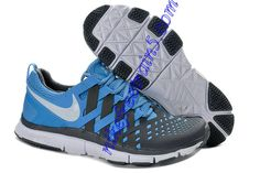 Nike Free Trainer 5.0 Woven Pure Platinum Reflective Silver Ice Blue 579809 400