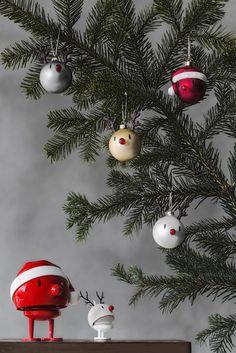 Hoptimisten, Weihnachtskugeln, Weihnachtsdekoration, Christbaumkugeln, Rentiere